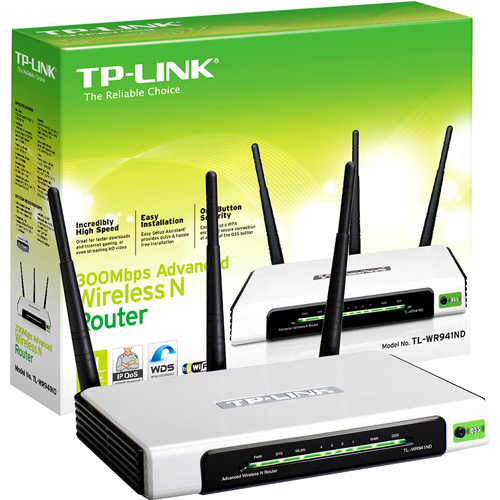 Roteador Wireless-Tp-Link-Tl-Wr941Nd-300