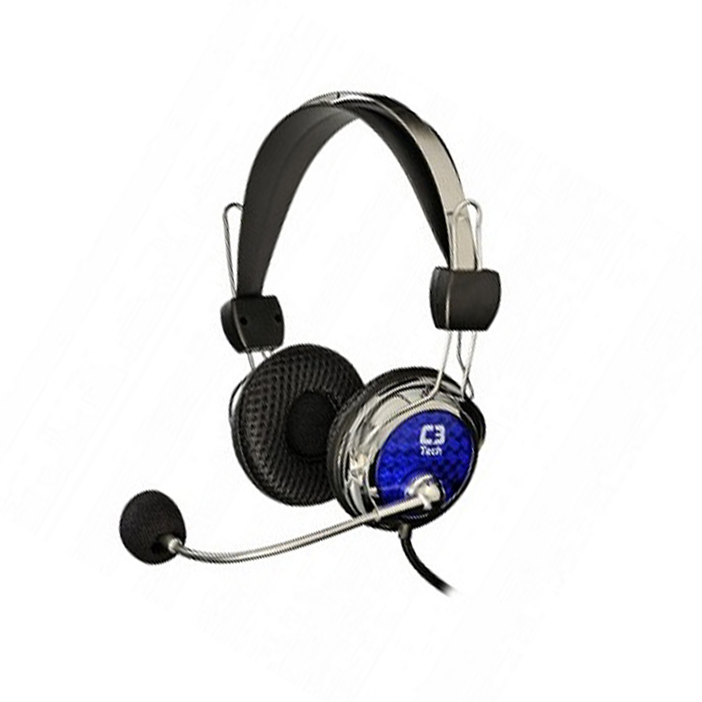 Headset C3 Tech Pterodax Mi-2322Rc - Cinza