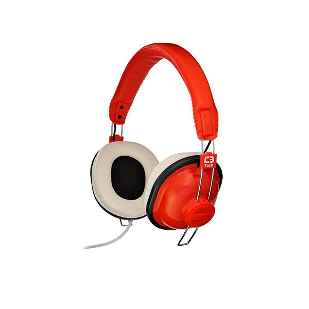 Fone De Ouvido Com Microfone Nessie C3Tech -  Mi-2818Rr