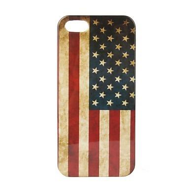 Capa Iphone 5-Retro Bandeiras Personalizadas