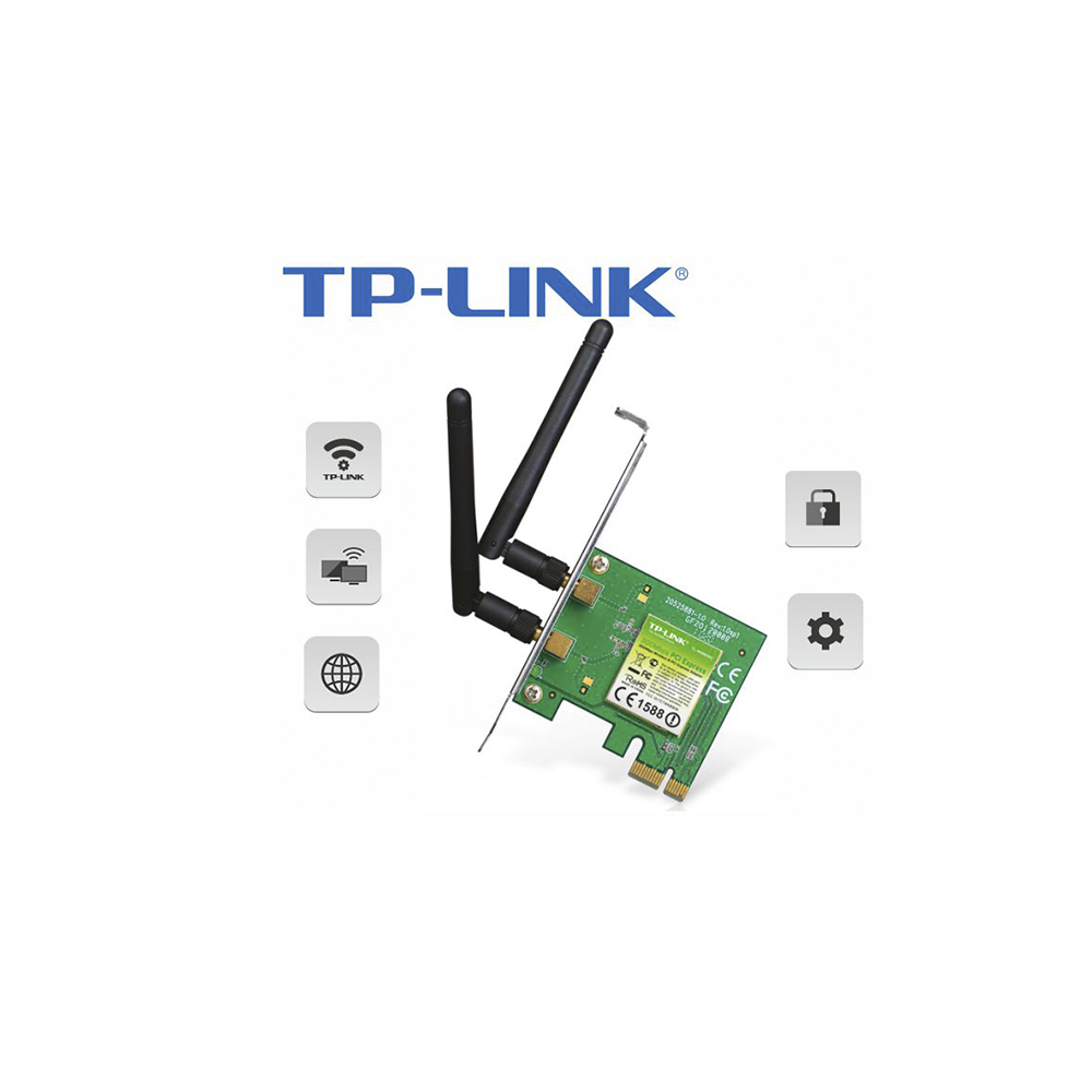 Placa De Rede Pci Exp-Tl-Wn881Nd Tp-Link