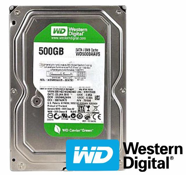 Hd 500 Gb S-Ata 2 W-Digital Wd5000Avvs