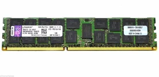 Memoria Server Ddr3 1333Mhz 16Gb Kingston