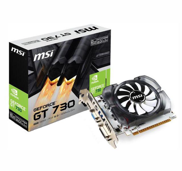Vga Pci-E 2Gb Msi Geforce Gt730  128 Bits Ddr3