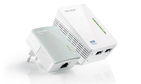 Extensor Wifi Powerline Tp-Link Tl-Wpa4220Kit