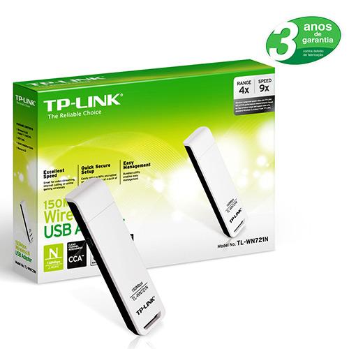 Adaptador Usb Wireles Tp Link Tl-Wn721N