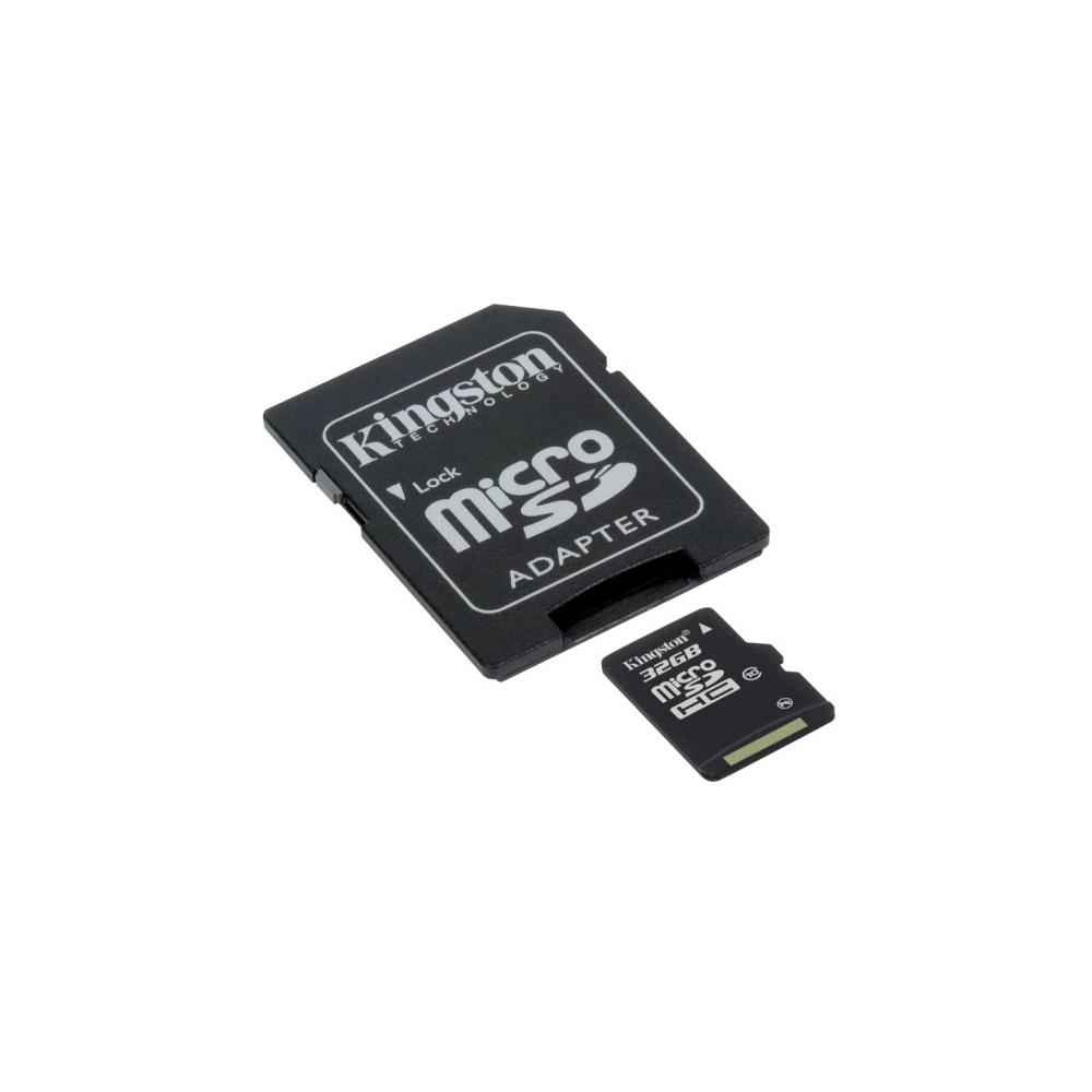 Micro Sd C, Adaptador 32Gb-Sdc10 Kingston