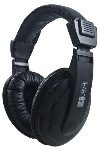 Fone+Microfone Hardline-Via750- Preto