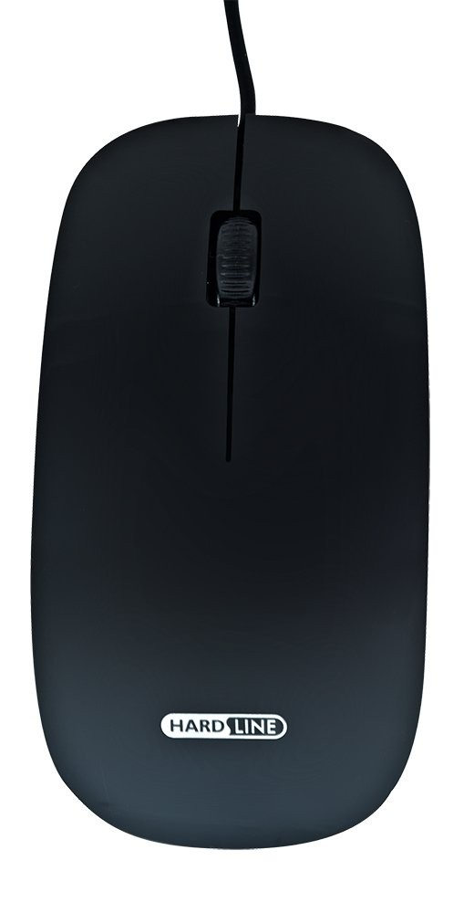 Mouse Optico Usb Hardline-Am-3212 1000Dbi- Preto