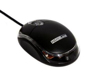 Mouse Optico Usb Hardline-Fm-04 Preto