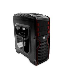 Gabinete C3Tech Game-Mt-G500Bk  Preto Sem Fonte