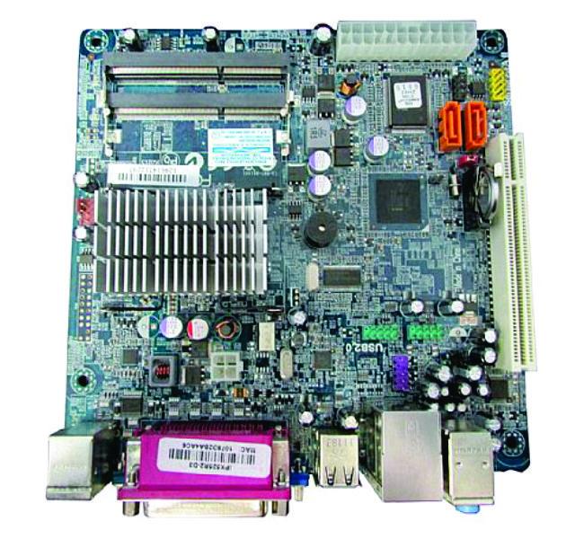 Placa Mae Pcware Mini Itx Atom D.core Ipx525R2-D3