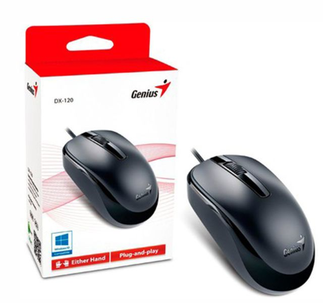 Mouse Optico Usb Genius Dx-110 Preto