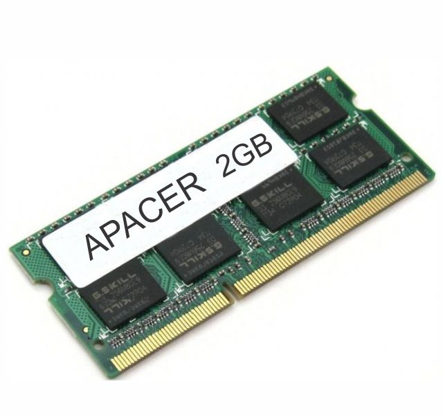 Memória Ddr3 1333 Mhz 2Gb P, Notebook Apacer