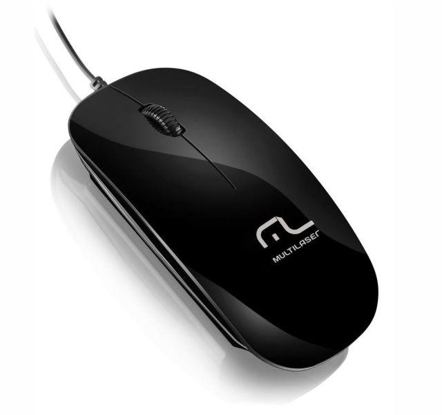 Mouse Optico Usb Multilaser-M0166  Preto