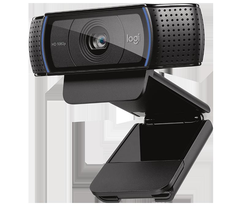 Web Cam Logitech-Hd, C920, 15Mp-Full Hd1080P