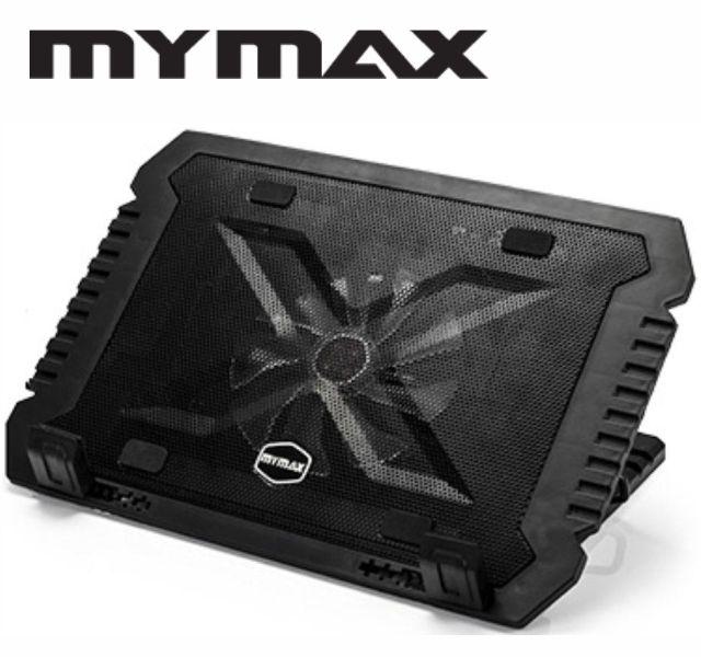 Base Para Notebook Mymax 17 Polegadas Myc Lx-788-Nb - 5 Níveis - Preto