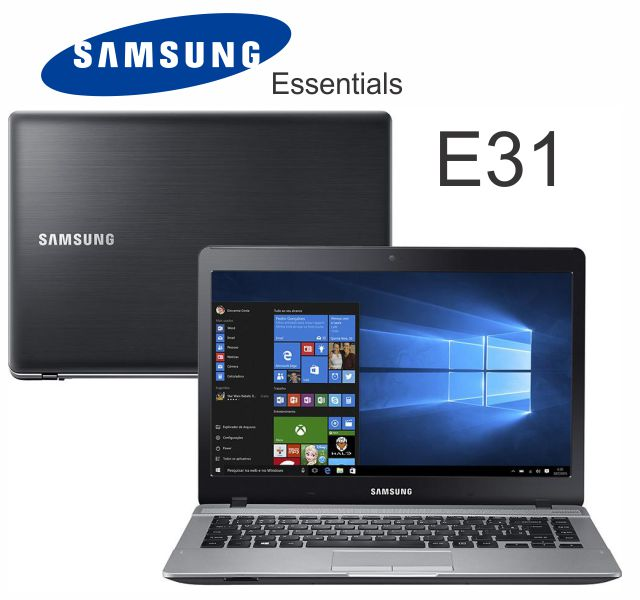Notebook Samsung Essentials-E31-370E4K-Kw6-I3-5005