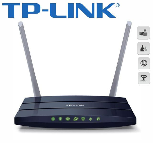 Roteador Wireless D.band-Ac1200-Tp-Link-Archer C50