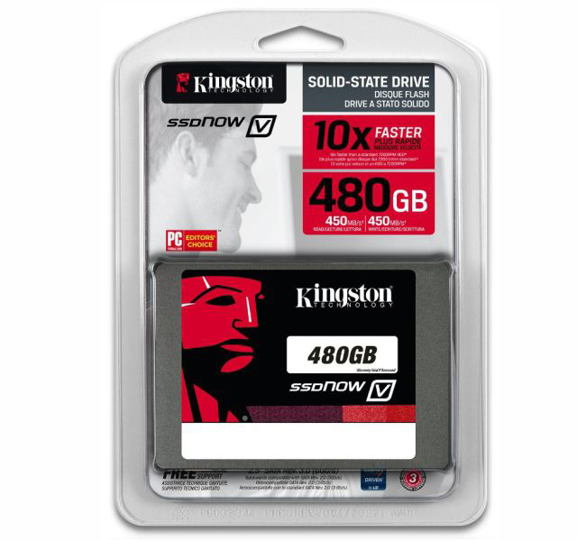 Ssd Kingston 480 Gb V400 Sata 3