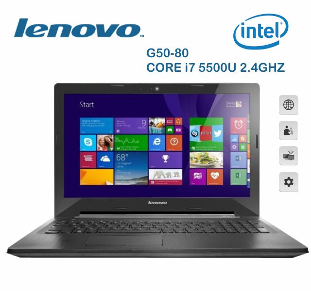 Notebook Lenovo G50-80 Core I7 5500U 2.4Ghz