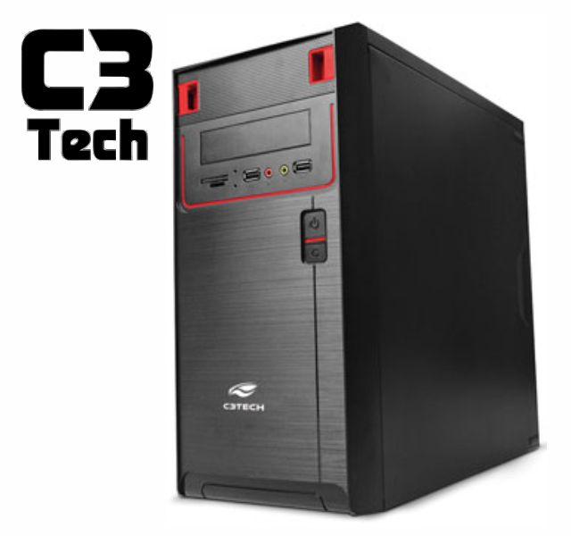 Gabinete C3Tech Micro Atx  Mt-21Bk Ps-200V2-U2Ha