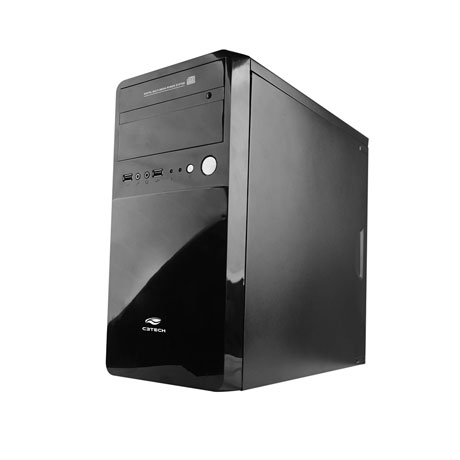 Gabinete C3Tech Micro Atx  Mt-22Bk Ps-200V2-U2Ha