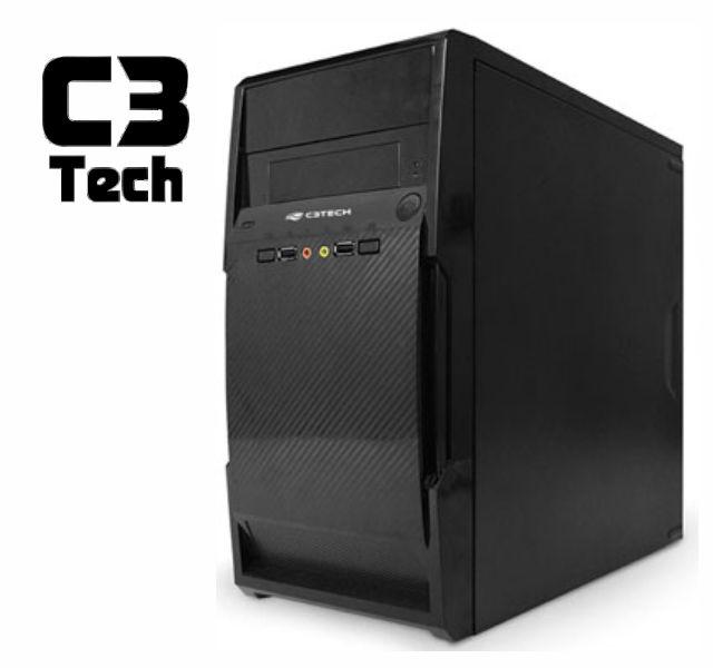 Gabinete C3Tech Micro Atx  Mt-20Bk Ps-200V2-U2Ha