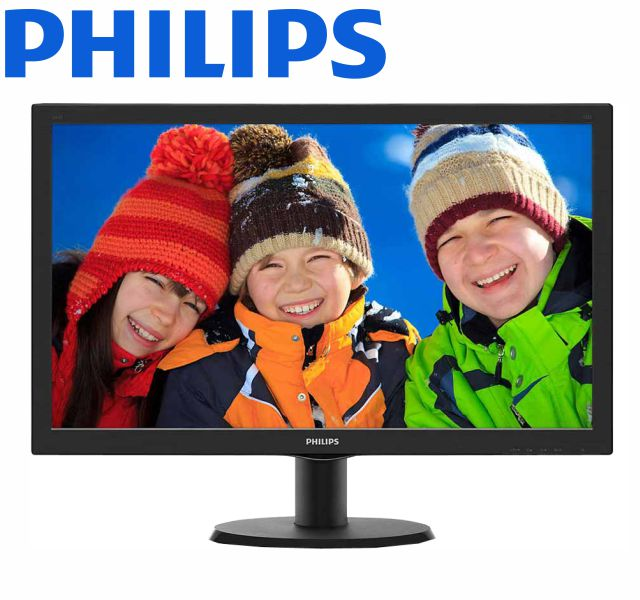 Monitor Lcd Led 23,6 Philips 243V5Qhaba