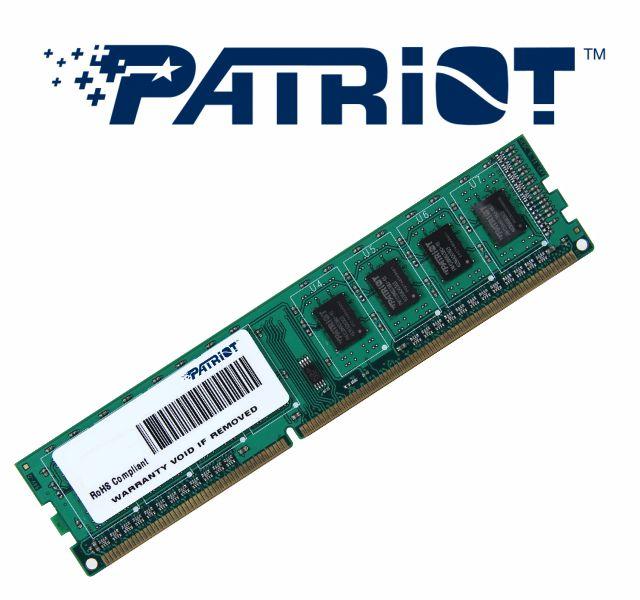 Memoria Ddr3 1333 Mhz 4Gb Patriot