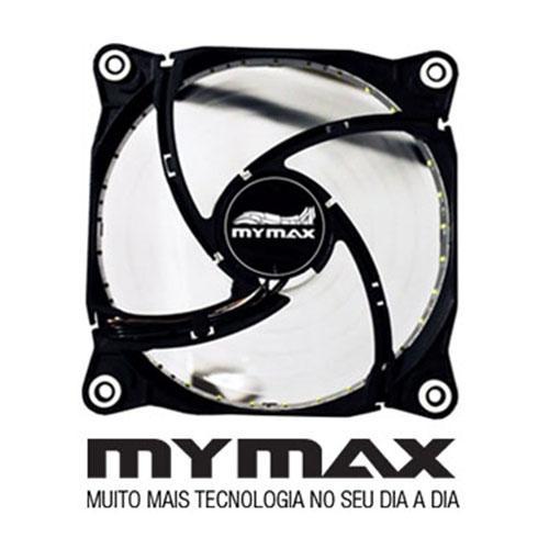 Cooler P, Gabinete 12X12  Branco 33 Leds- Mymax