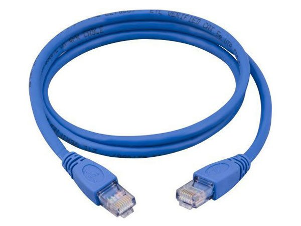 Cabo De Rede Cat5E Patch Cable-2 Metros Azul Mymax