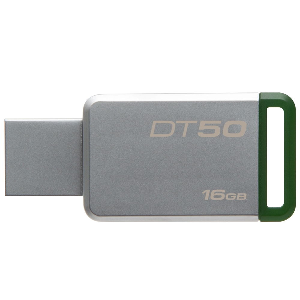 Pen Drive 16 Gb Kingston-Dt50- Usb 3.1  3.0  2.0