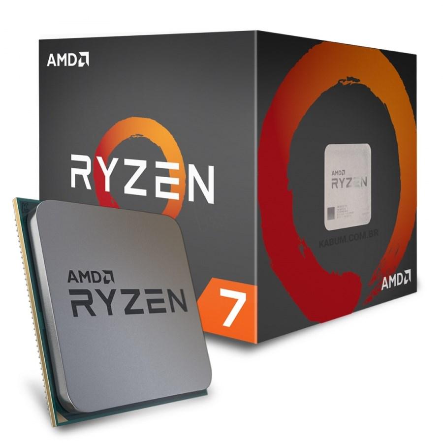 Proc Amd Ryzen 7 1700 3.0Ghz  Am4