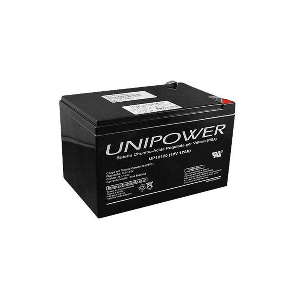 Bateria Selada 12 V 12 Ah Estacionaria Unipower