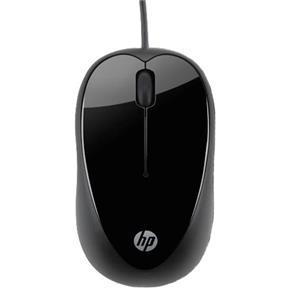 Mouse Óptico Hp X1000 Cabo Usb - Preto