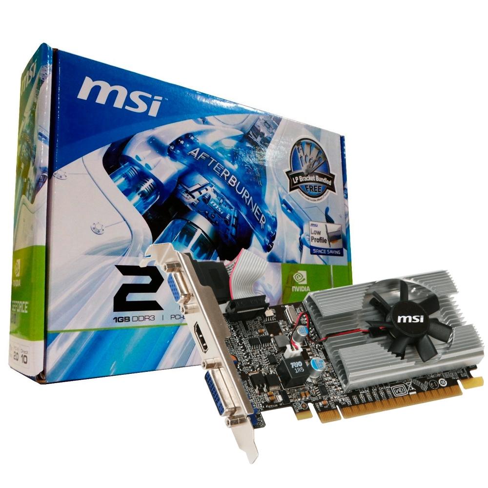 Vga Pci-E 1Gb Msi N210 Ddr3 64Bits N210-Md1G, D3
