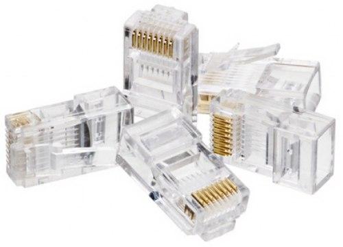 Conector Rj45-Utp Cat5-Up8C C, 100 Un Dex
