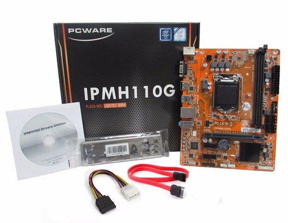 Placa Mae 1151 Pcware Ipmh110G-Ddr4