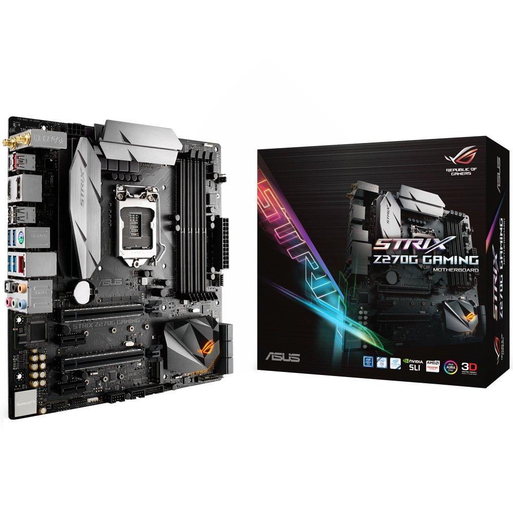 Placa Mae 1151 Asus Strix  Z270G Gaming-Ddr-4