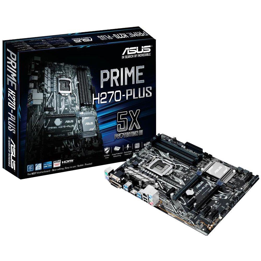Placa Mãe  1151 Asus Prime H270-Plus  Ddr4