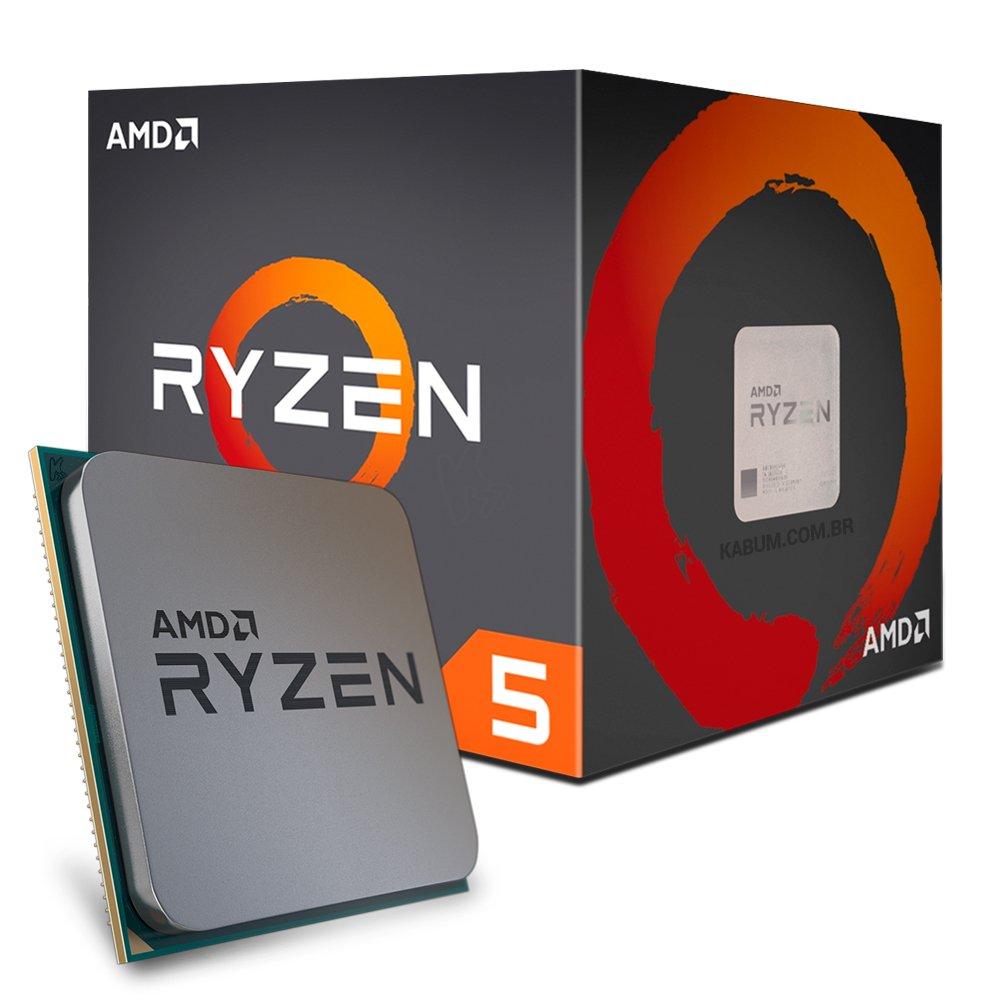 Processador Amd Ryzen 5 1400 C,  Wraith Stealth, Quad Core, Cache 10Mb, 3.2Ghz - Yd1400Bbaebox