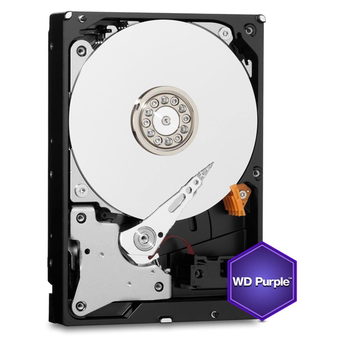 Hd 4Tb Sata 3 W. Digital Wd40Purd Purple