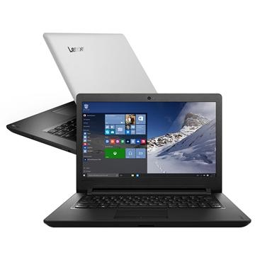 Notebook Lenovo Ideapad 110 Intel Celeron Dual Core 4Gb 500Gb Tela 14 Pol - Prata