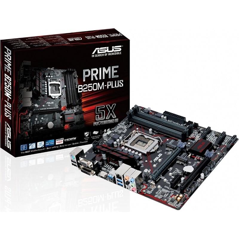 Placa Mae 1151 Asus Prime B250M-Plus