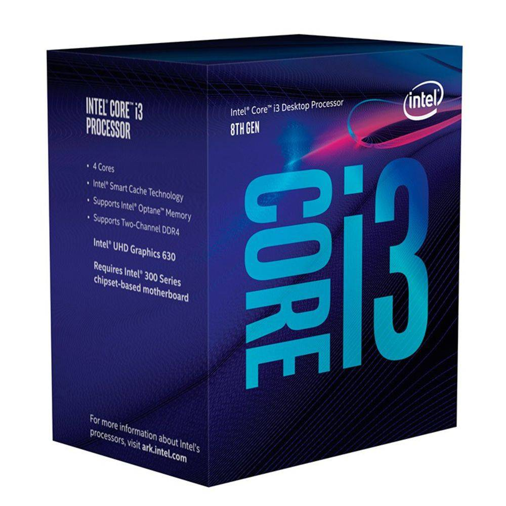 Proc Intel 1151 Core I3-8100-3.6Ghz Box