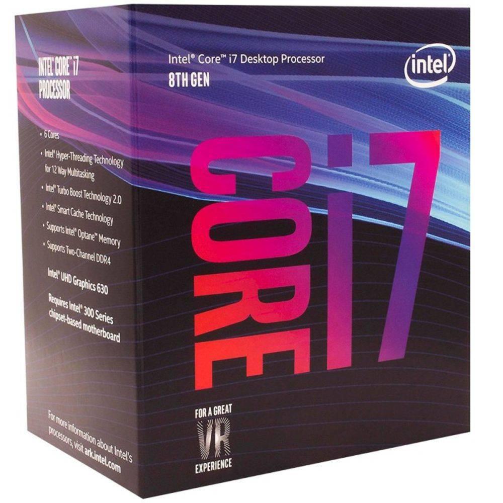 Proc Intel 1151 Core I7-8700-3.2Ghz Box