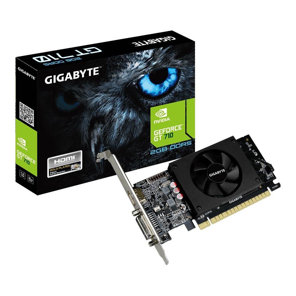 Vga Pci-E 2Gb Gigabyte Geforce Gt710 Gv-N710D5-2Gl