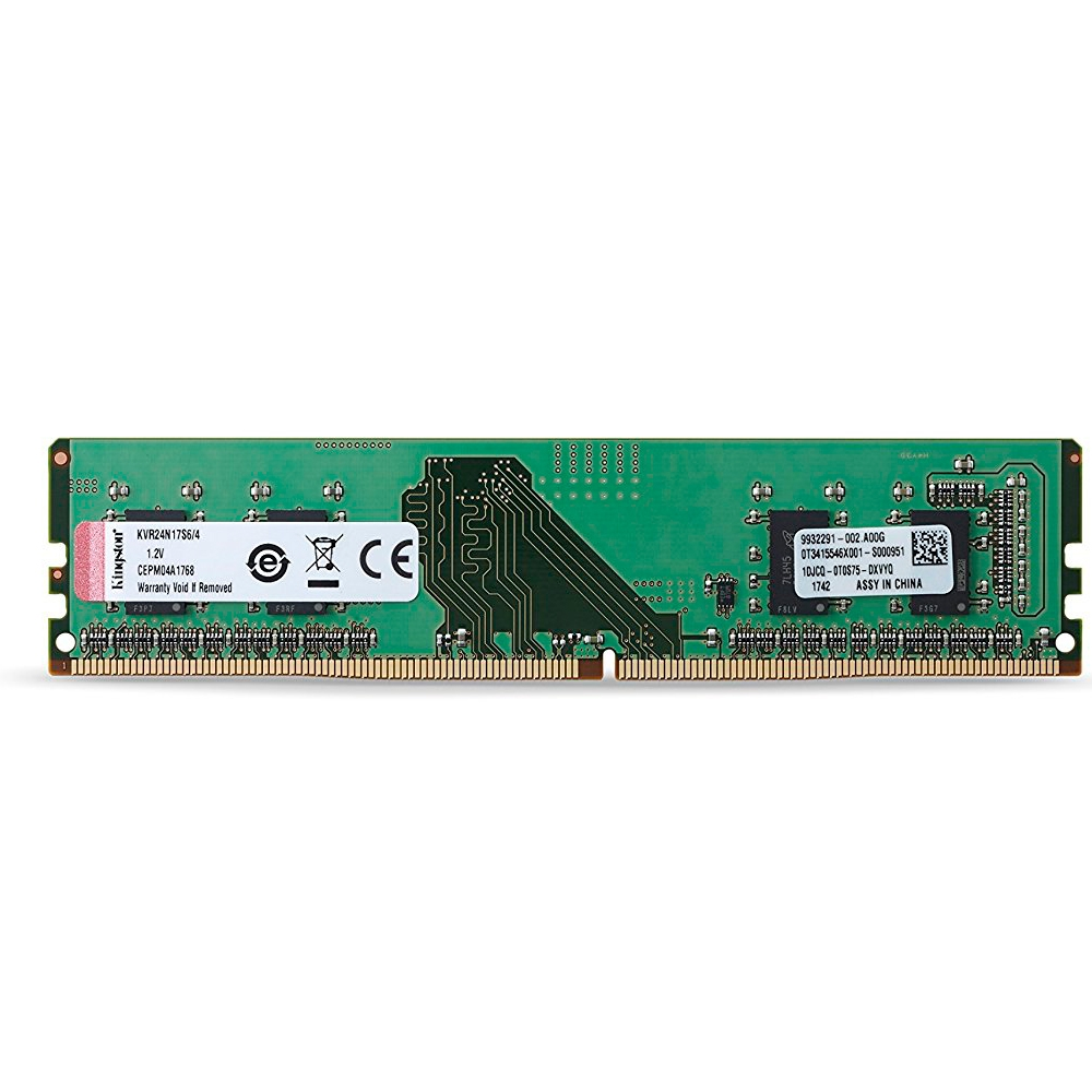 Memoria Ddr4 2400 4Gb Kingston -Kvr24N17S6, 4