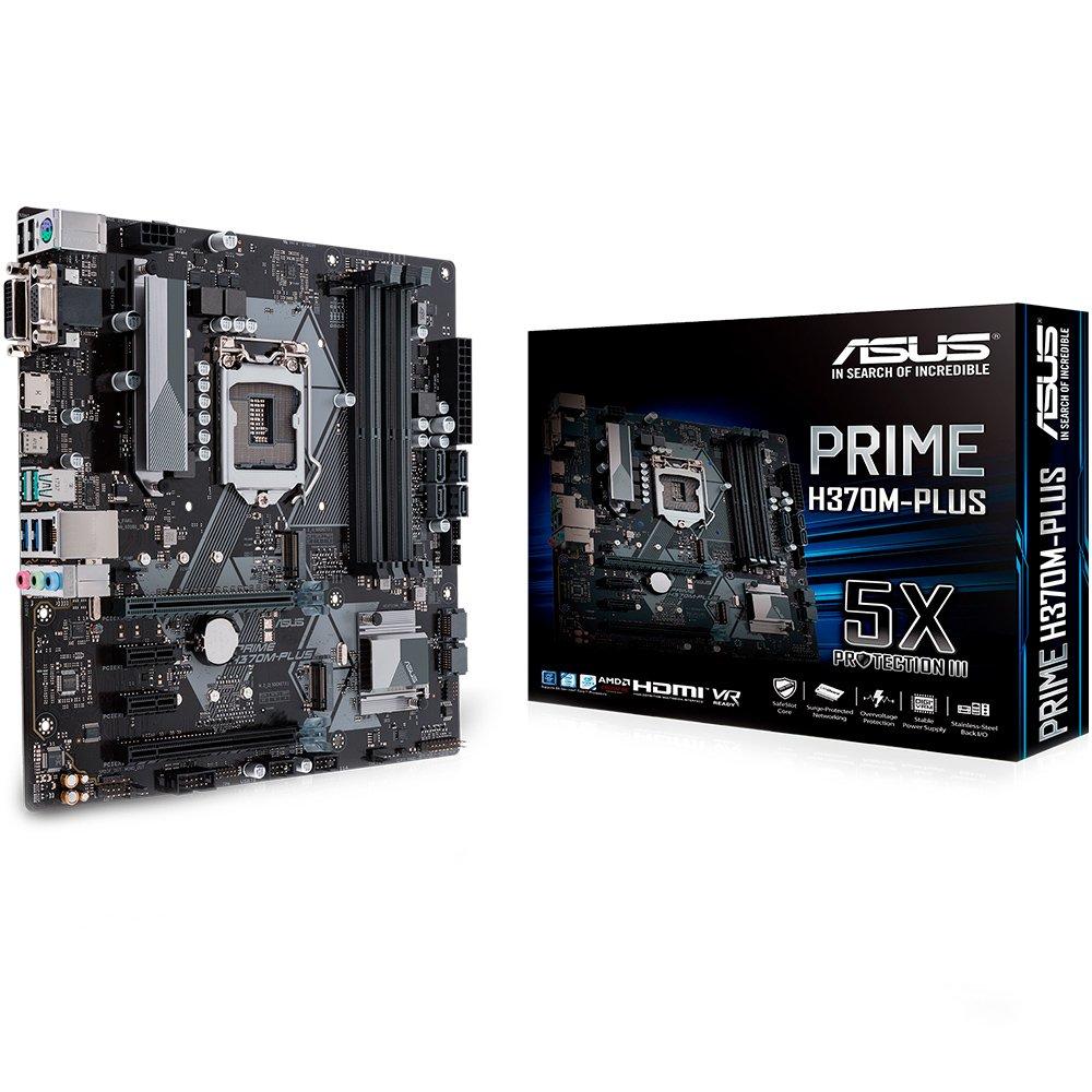 Placa Mãe 1151 Asus Prime H370-Plus Ddr4